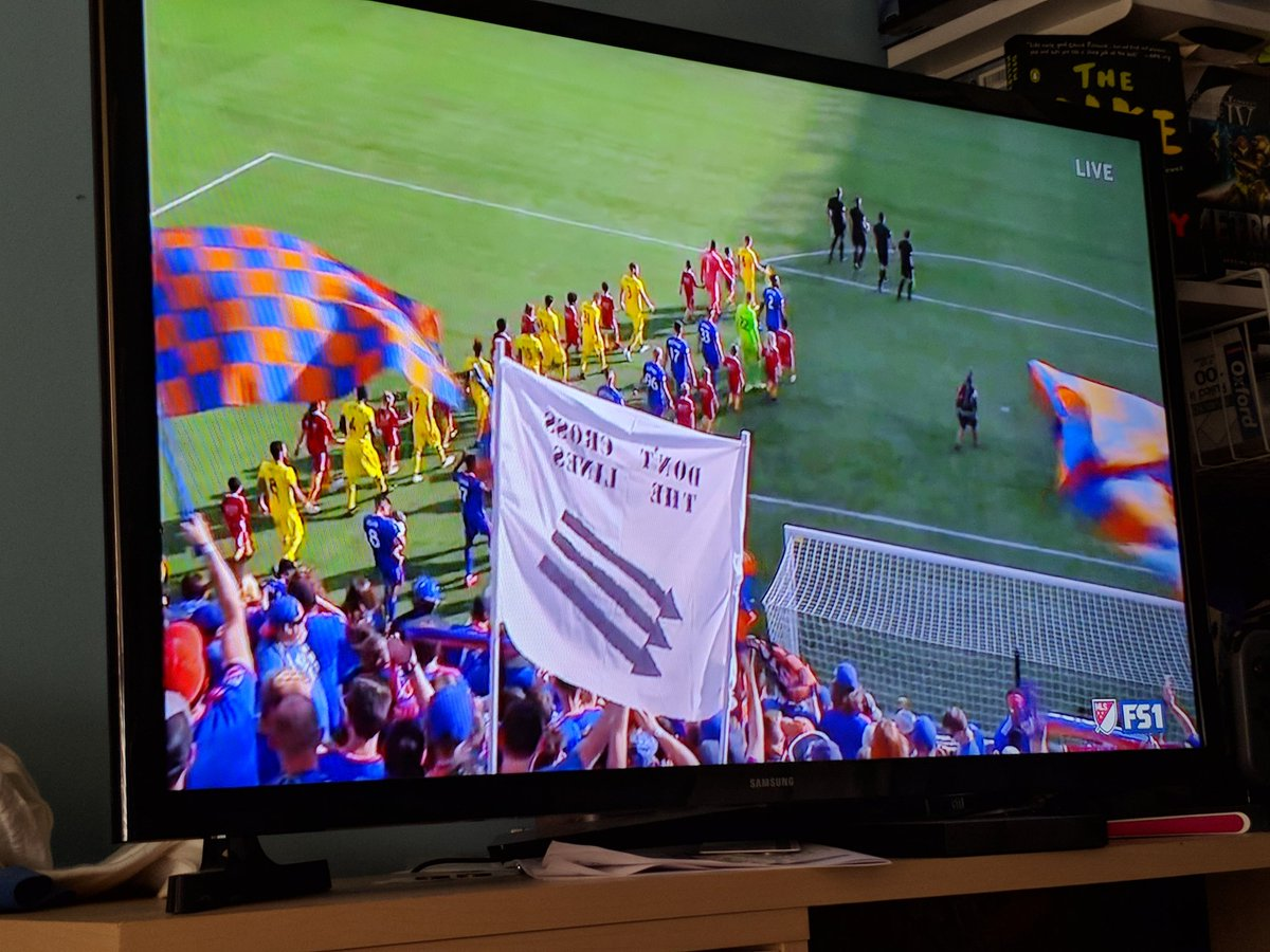 Heyyyy I see you Cincinnati! #FCCincy  #CINvCLB #AUnitedFront<br>http://pic.twitter.com/OCVPae0fEo