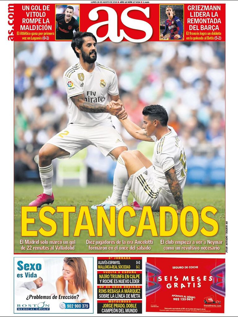 """RT @RMadridInfo: As's Cover 