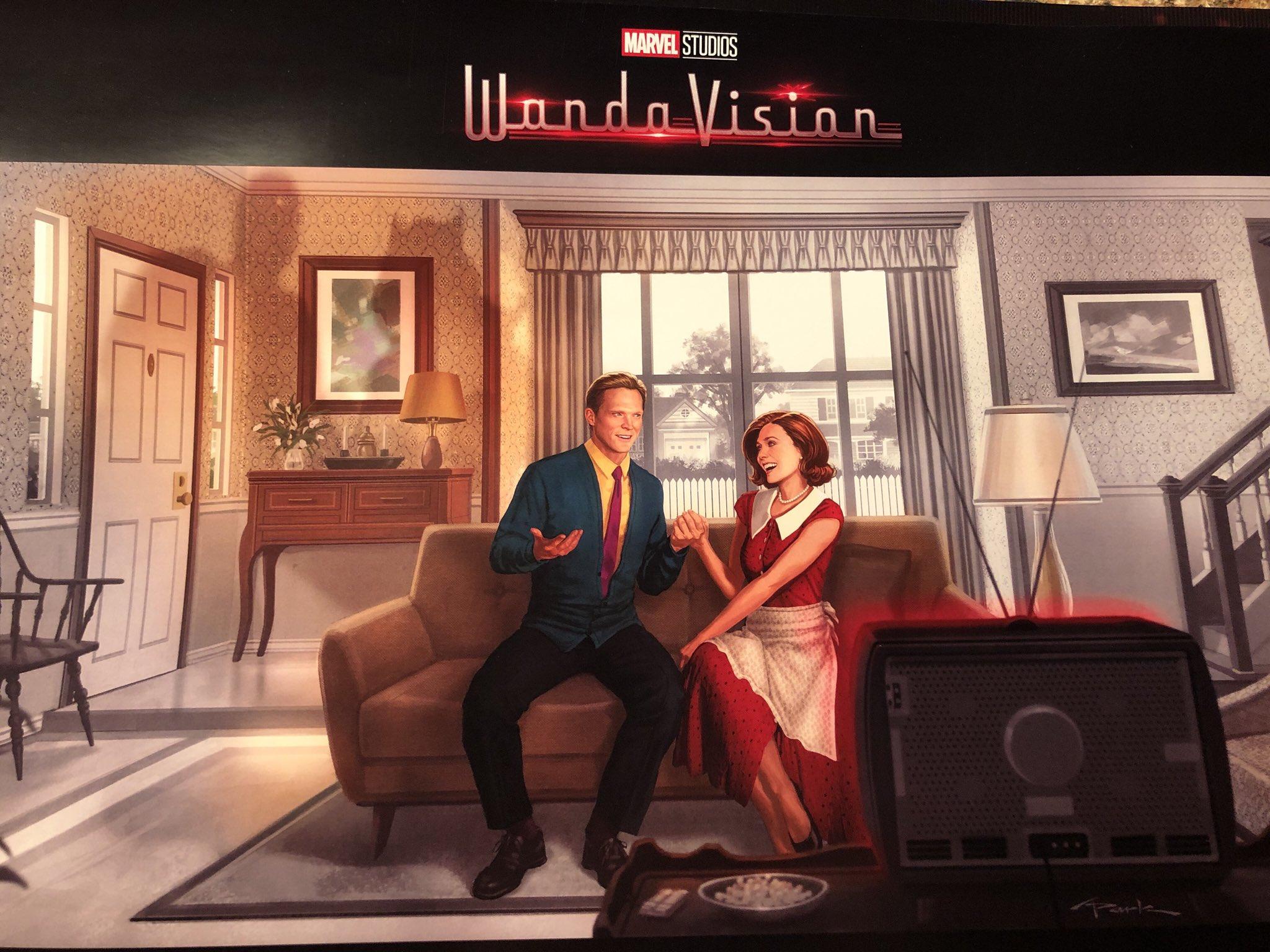 WandaVision wordt op 27 november 2020 verwacht op Disney Plus België