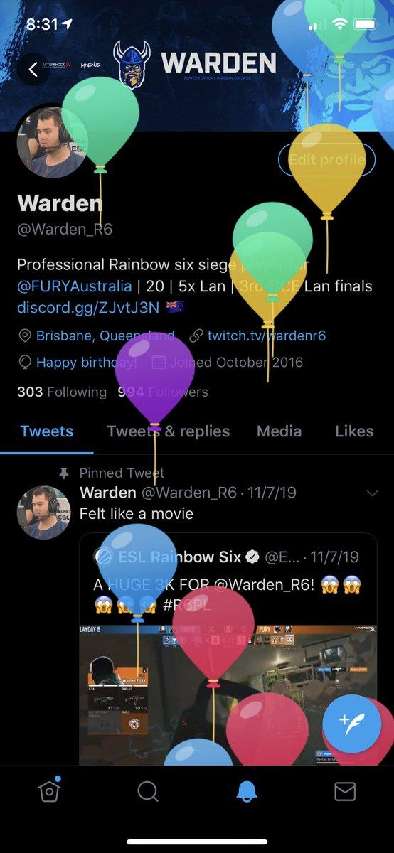 Warden (@Warden_R6)   Twitter