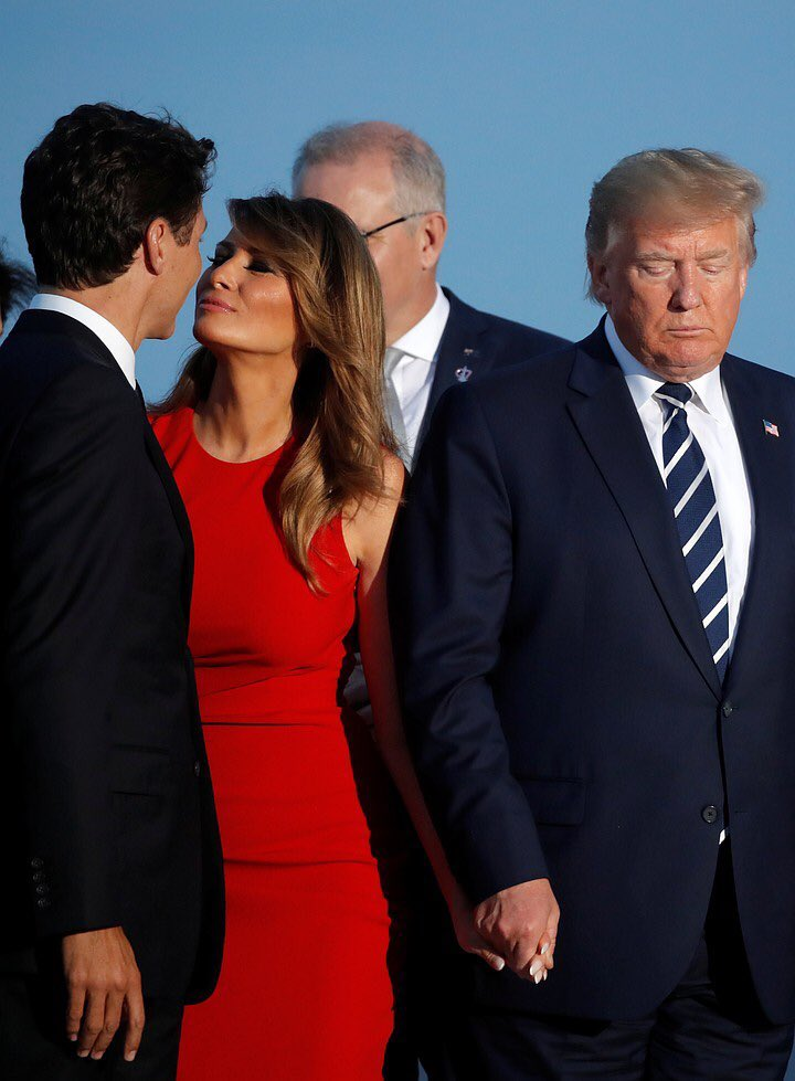 RT @MJ_Mouton: Find you someone that looks at you the way Melania looks at Justin Trudeau. https://t.co/nOVyIijknE