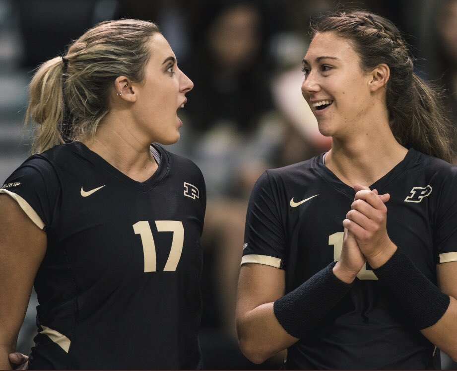 How everyone is reacting when they learn that @PurdueVB opens a new spectacular season in one week from today. Home opener vs. Ohio U on Sunday, Sept. 1 at 2 PM. Boilers also host Ball State on Tuesday, Sept. 3 at 7 PM. Expecting sell-outs. @PurdueSports fans - snag tickets now. https://t.co/84Q8HT8Q82
