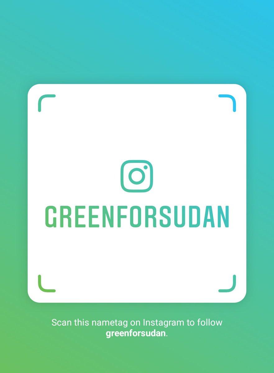 Follow us on Instagram! Username: greenforsudan  https://www. instagram.com/greenforsudan? r=nametag  … <br>http://pic.twitter.com/vPqefiFpnN