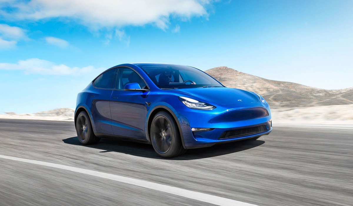 RT @vivvchy: Tesla Model Y is a 300-mile-range all-electric SUV with panoramic glass roof https://t.co/XIiNg6flSC