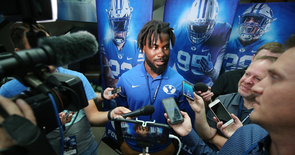 BYU football: Ty'Son Williams' journey to Provo unexpected but very welcome by those within the program https://t.co/F4MSc5o3BF https://t.co/PZmKkakLv1