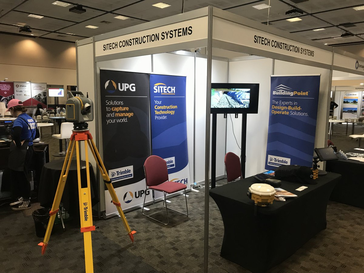 Our very own @Brent Daniel and Lee Edwards are currently attending the International Public Works Conference in Hobart.  Find them at booth 37 and learn how Trimble Technology is transforming the way the world works!  #IPWC2019 #trimble #sitech #technology https://t.co/fSfhsN2GzT