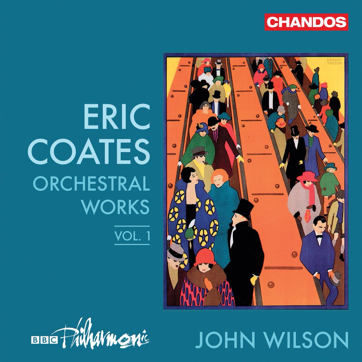 Loving this new disc of Eric Coates' orchestral music, the first in a series by @BBCPhilharmonic under John Wilson. Due to be released October 4, 2019. BTW, this includes the famous Sleepy Lagoon, the Desert Island Discs theme song. https://t.co/f0AU1At7R1