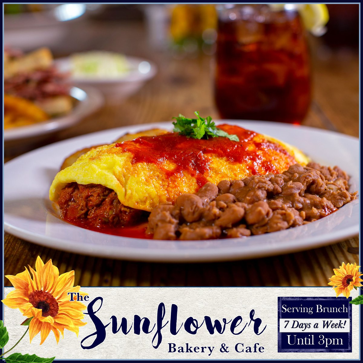 It's Sunday & that means Brunch. Join us at the Sunflower as we serve up your favorite meal of the week.  Directions -> https://t.co/M77xgNl0qk Menu -> https://t.co/tUmYDCXDPW https://t.co/E2UG7c0Yyu