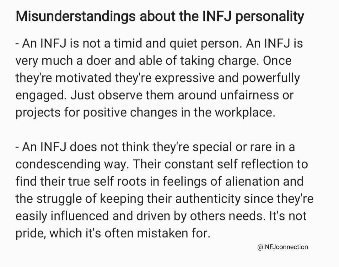 infjpersonality hashtag on Twitter