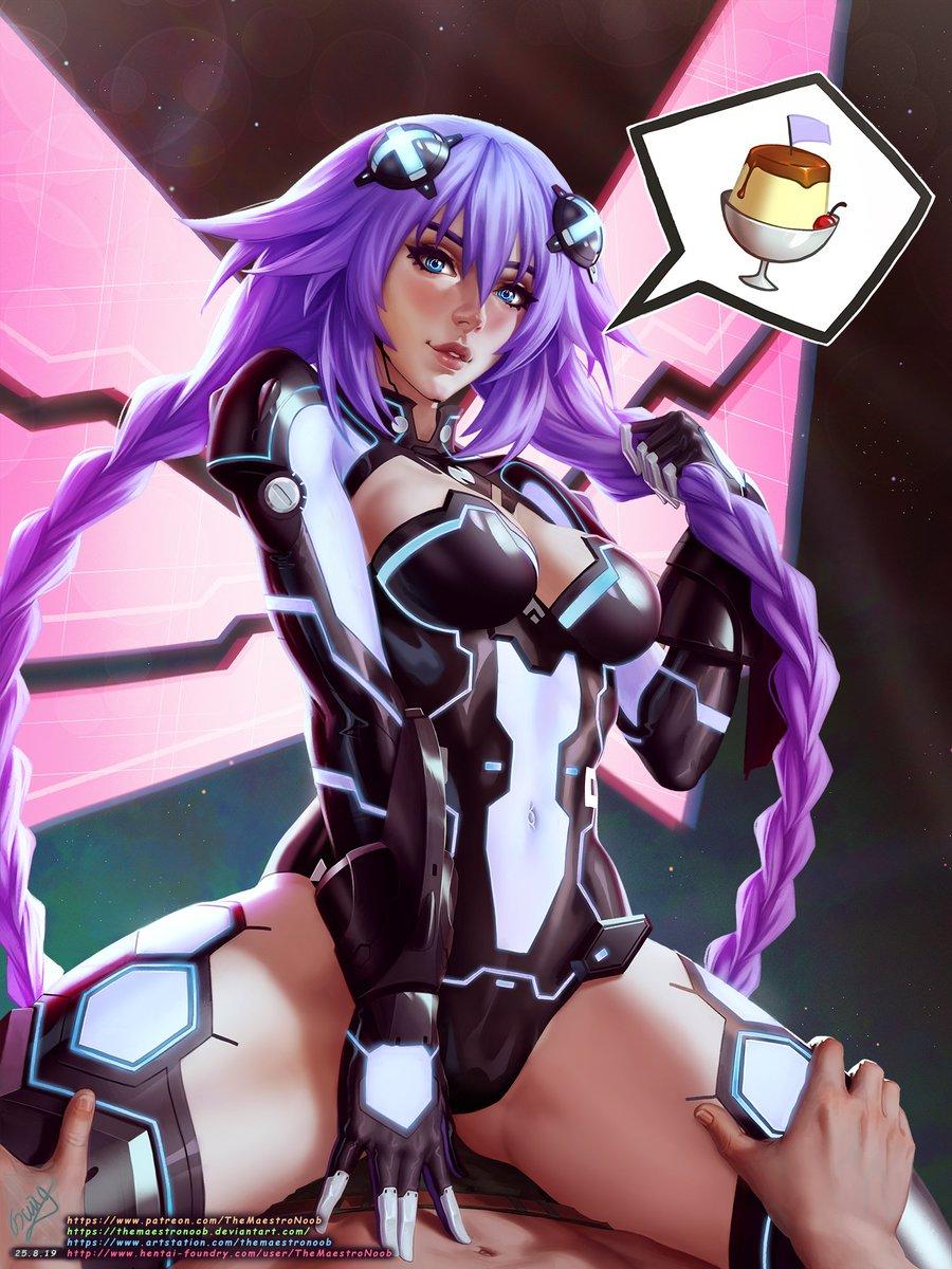 Purple Heart, from Hyperdimension Neptunia