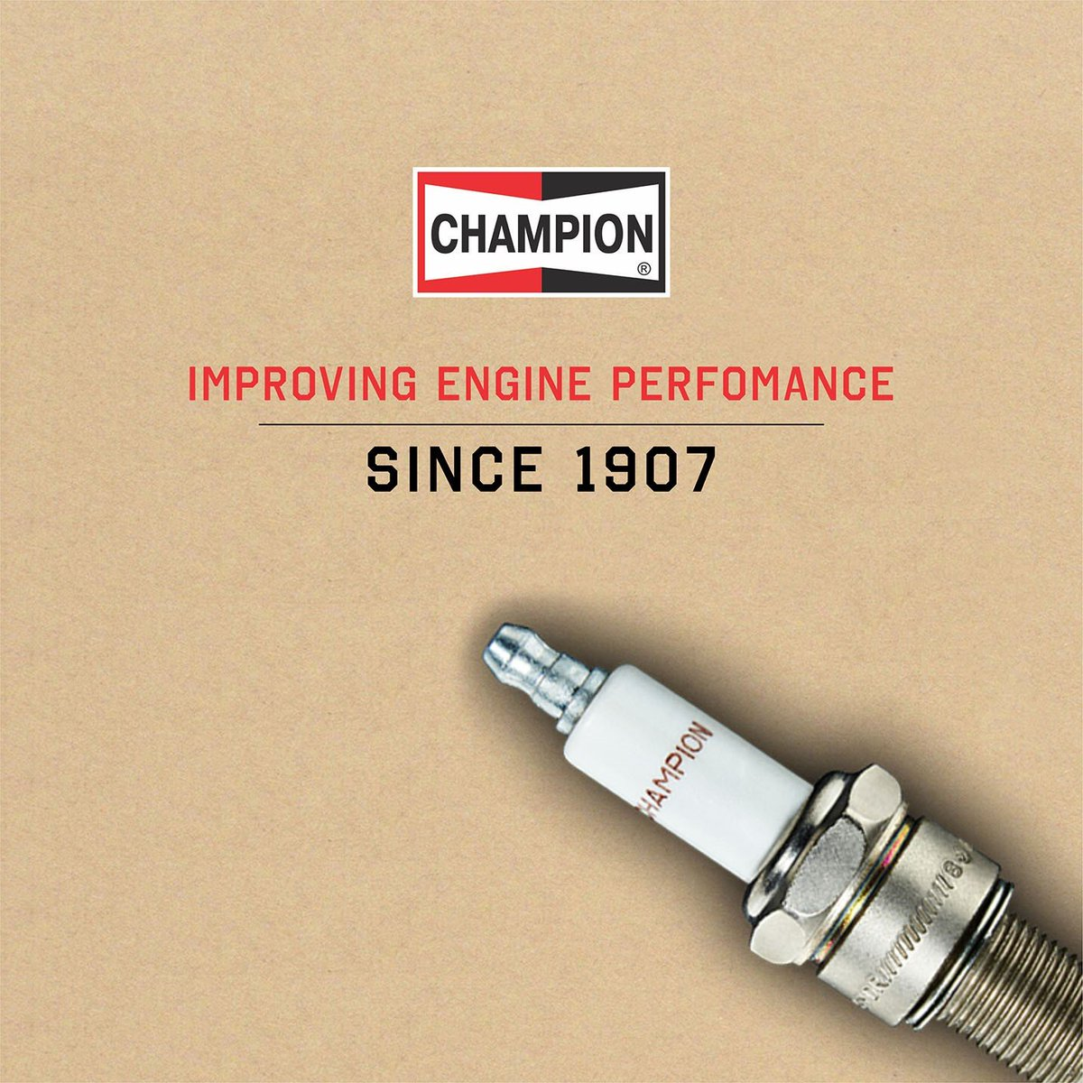 Improving engine performance since 1907. Follow us to stay updated #Champion https://t.co/pRKnuV5IX2