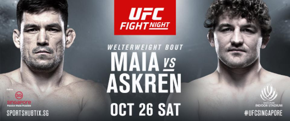UFC Returns to Singapore with Thrilling Matchup between Demian Maia and Ben Askren https://t.co/4zcv5XaPDn https://t.co/i9WQrwHMc6