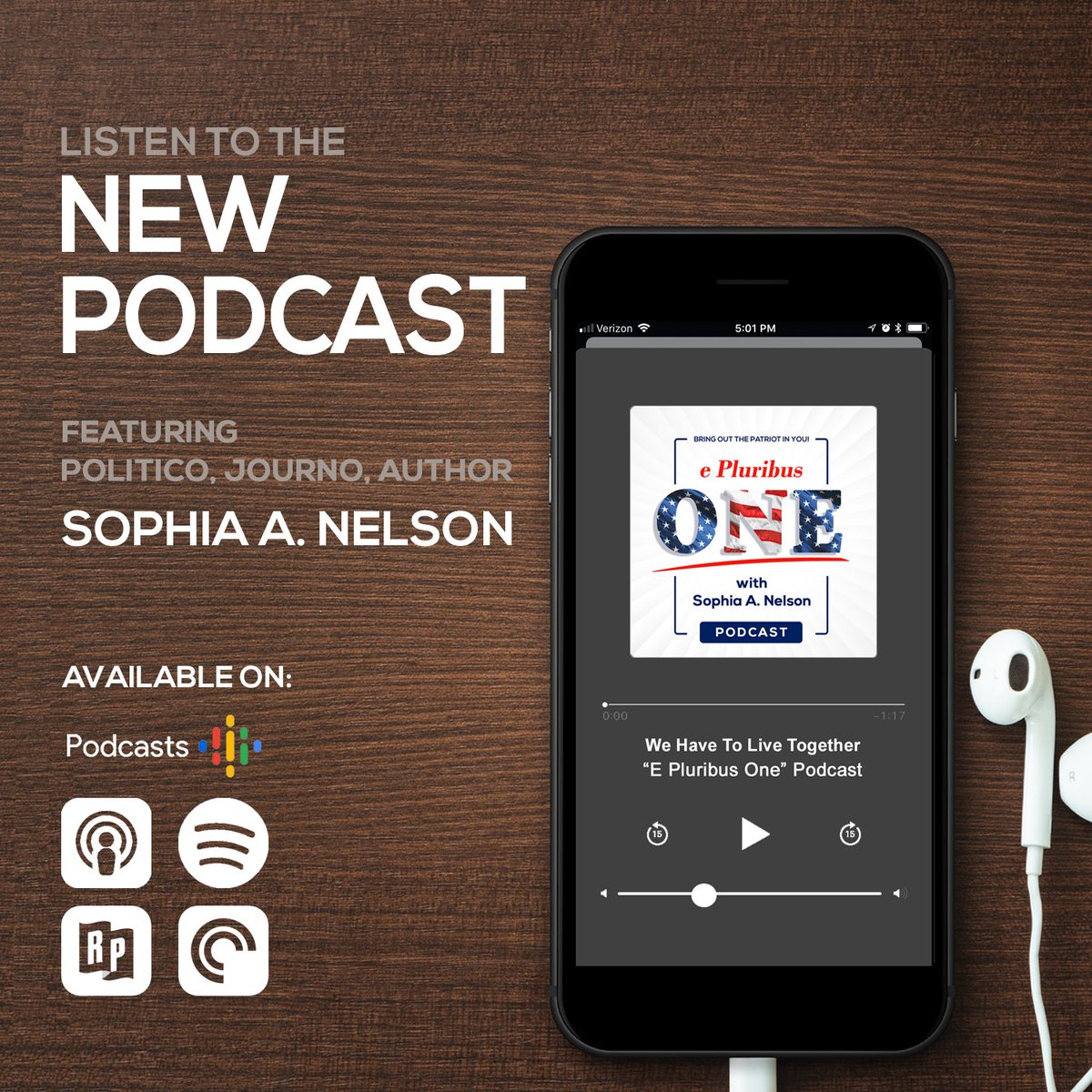 Good morning! Start the day with your morning coffee and my new #podcast about America, Politics & Culture. Playing 4 episodes now! #epluribusone #MondayMorning #MorningCoffee #morningmotivation<br>http://pic.twitter.com/9UXjpEhwHE