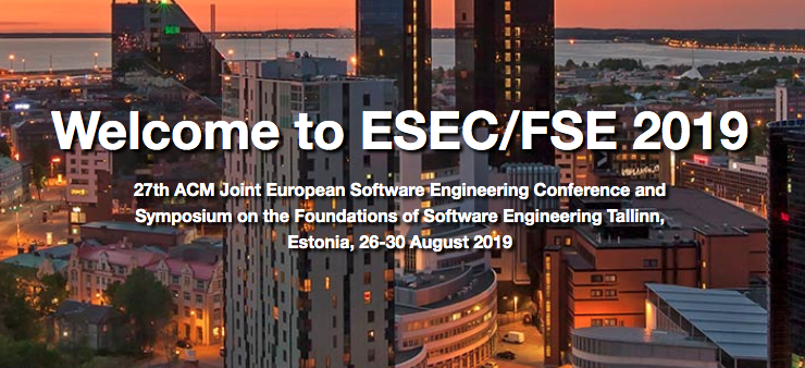 ESEC/FSE 2019 (@FSEconf) | Twitter