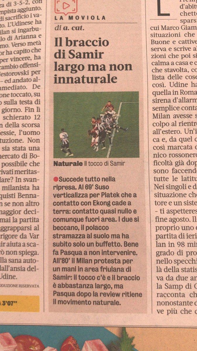 #UdineseMilan