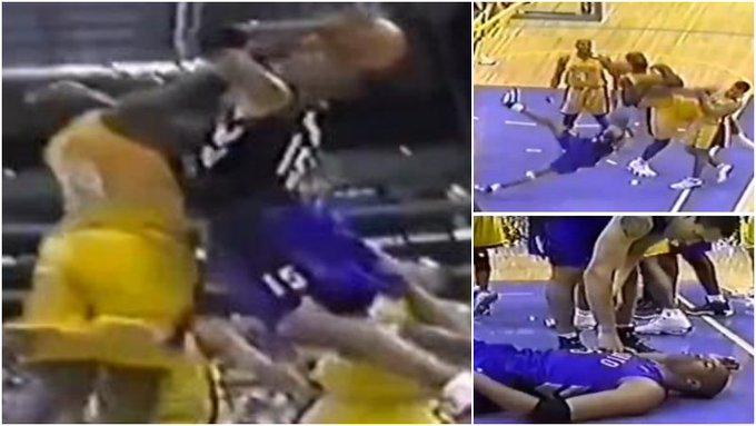 【影片】為何說在NBA千萬不要試圖隔扣歐尼爾,看了半人半神遭遇你就懂!