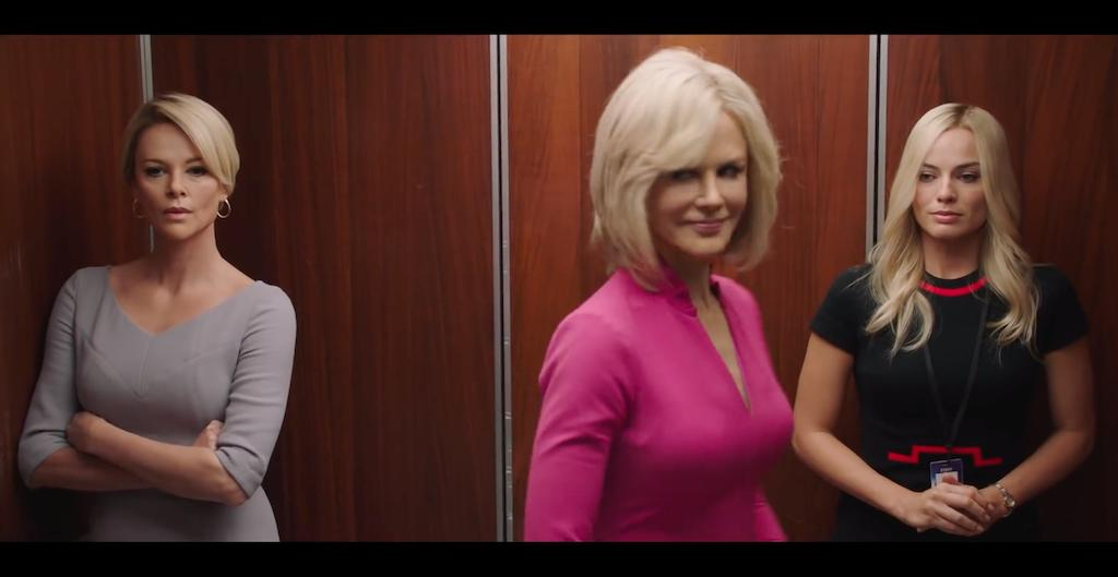 #BombshellMovie Official Teaser with Charlize Theron, Nicole Kidman and Margot Robbie https://t.co/HAZiXtpo8h https://t.co/NNVD53Fynq
