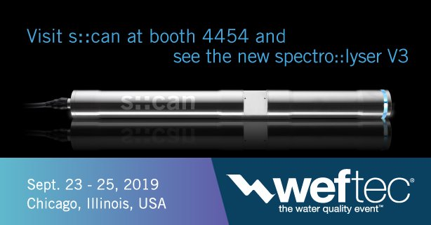 From September 23 - 25, 2019 @WEFTEC takes place in Chicago! Come to our booth #4454 to see our new innovative products and live-demonstrations! Read more about what we are going to show here: https://t.co/T27BltJSte #WEFTEC19 #WEFTEC #smartwater #IoT https://t.co/1MnKOSo5ZP