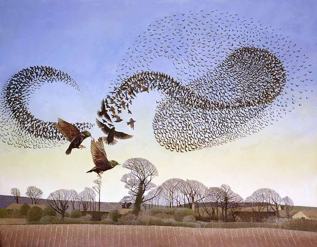 RT @JohnConstableRA: Dancing in the Air III by Annie Ovenden 2015  Oil on Canvas #BrotherhoodofRuralists https://t.co/2QSNF8ZOYh