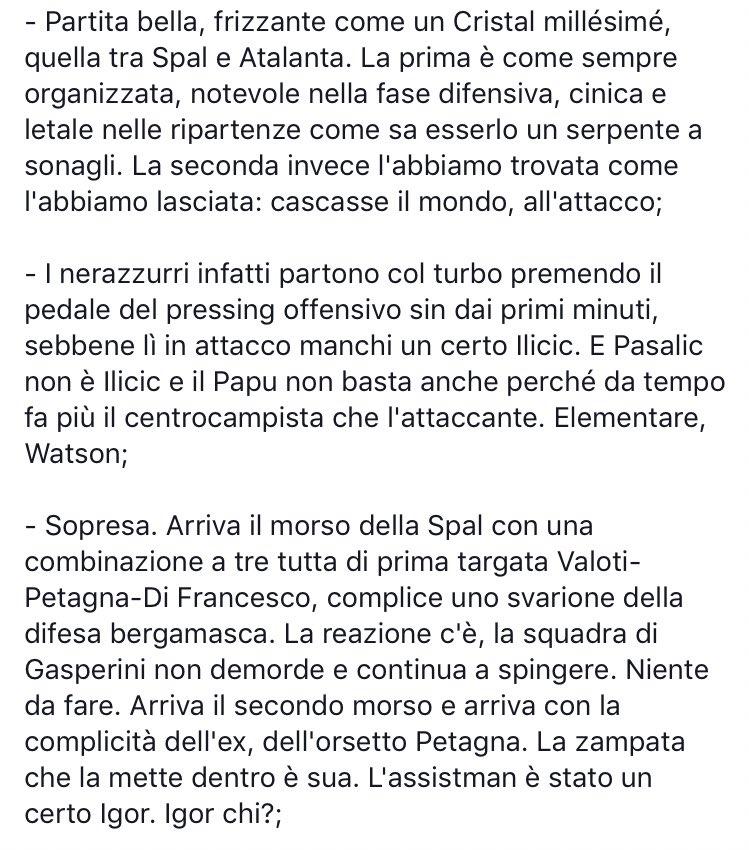#SpalAtalanta