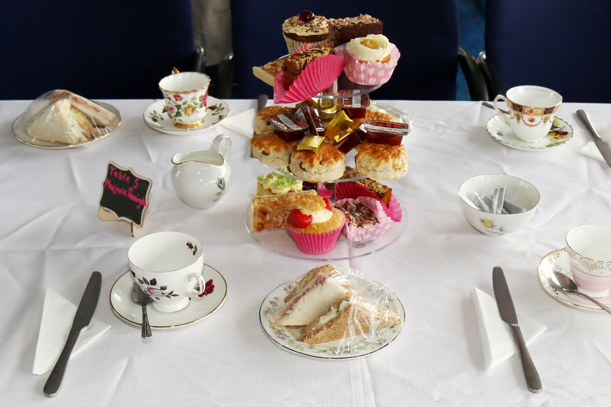There still tickets for Join us for our fabulous Afternoon tea on 11 September. Only £7.50! To book ring 01744 453798 or email events@willowbrookhospice.org.uk https://t.co/GziTebwHTk