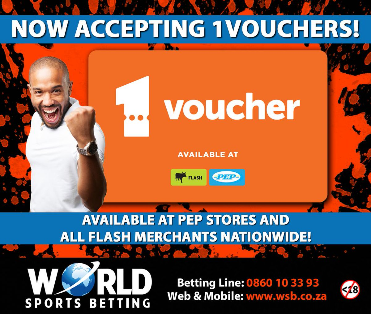world sports betting vouchers