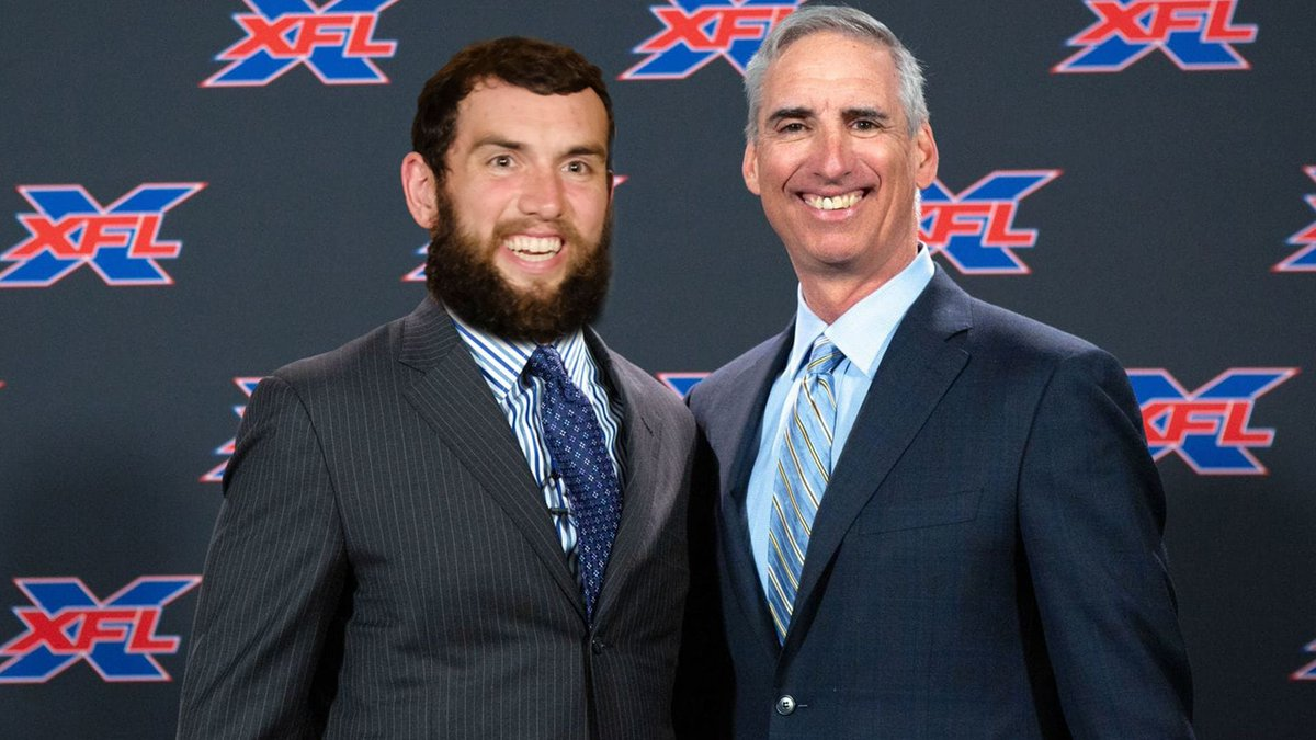 The College Network The Rush Could Andrew Luck join his father in the XFL https://t.co/hn4QSkE1Ke https://t.co/MJIPM0QDE6