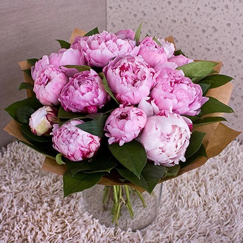 нашем картинки цветы пионы букет новогоднее поздравление открытке