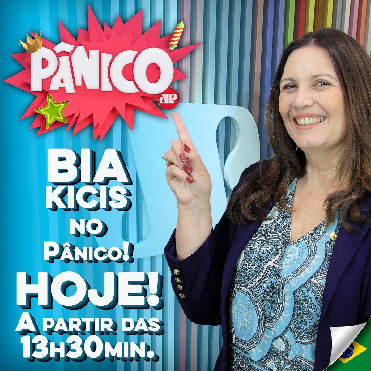 Resultado de imagem para Pânico -  - Bia Kicis (Deputada