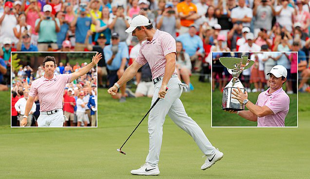 Rory McIlroy scoops eye-watering £12.3m prize after seeing off tough final-day competition from Brooks Koepka and Xander Schauffele to win FedEx Cup https://t.co/741w9NfCHV https://t.co/dxyYxtguKX