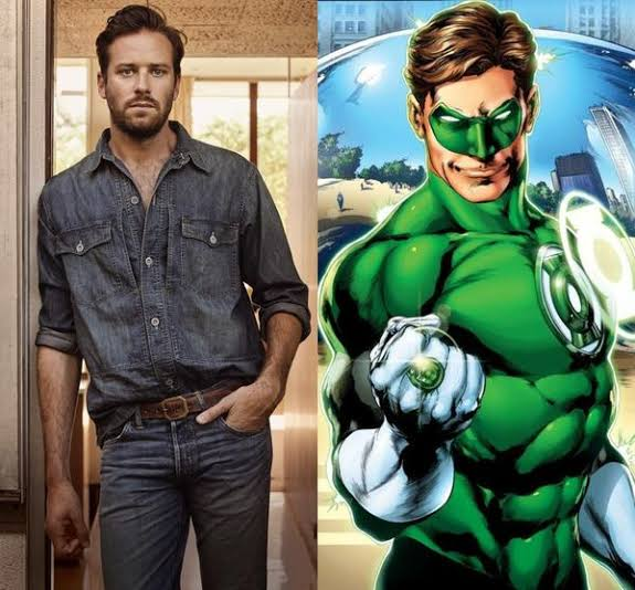 RT @johnsedai: What would be your reaction (with a GIF) if Armie Hammer got casted as Hal Jordan? https://t.co/RROAwnnZgg