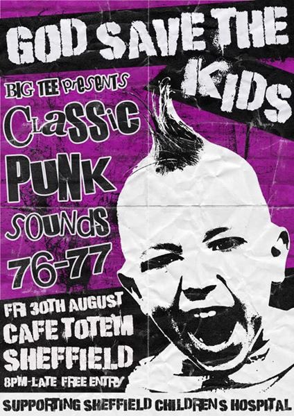 Coming up this week:  Tuesday: Quiz Totem - Music Quiz With a Twist  Friday: GOD SAVE THE KIDS - Punk club night and charity evening  Saturday: Prescription Happiness live in Sheffield (UK) https://t.co/hk7U8hs7r7