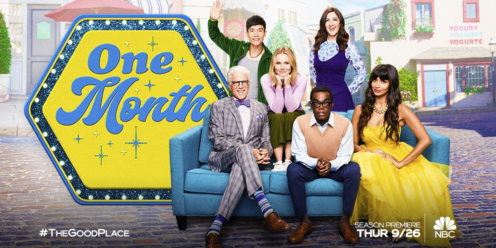 Time means nothing, baby. #TheGoodPlace