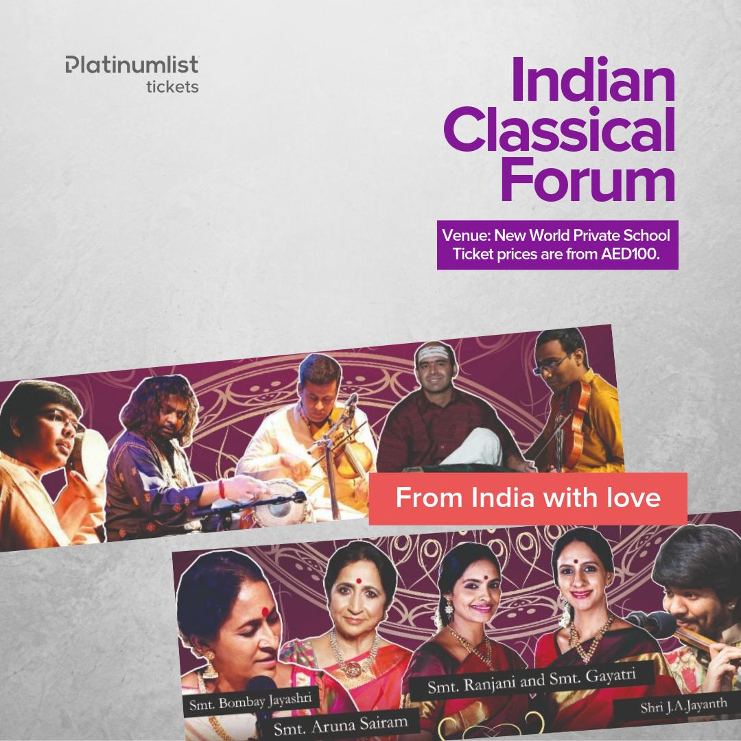 Tickets to Indian Classical Forum 2019 are now on sale! 🎉 BOOK NOW: bit.ly/Ind-classicalf…