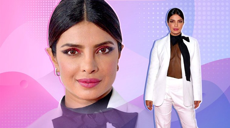 Priyanka Chopra Jonas slays in this white pantsuit, but her eye make-up has our attention https://t.co/OeoA0jdXzV via @indianexpress #lifestyle https://t.co/EI82D0nyLN