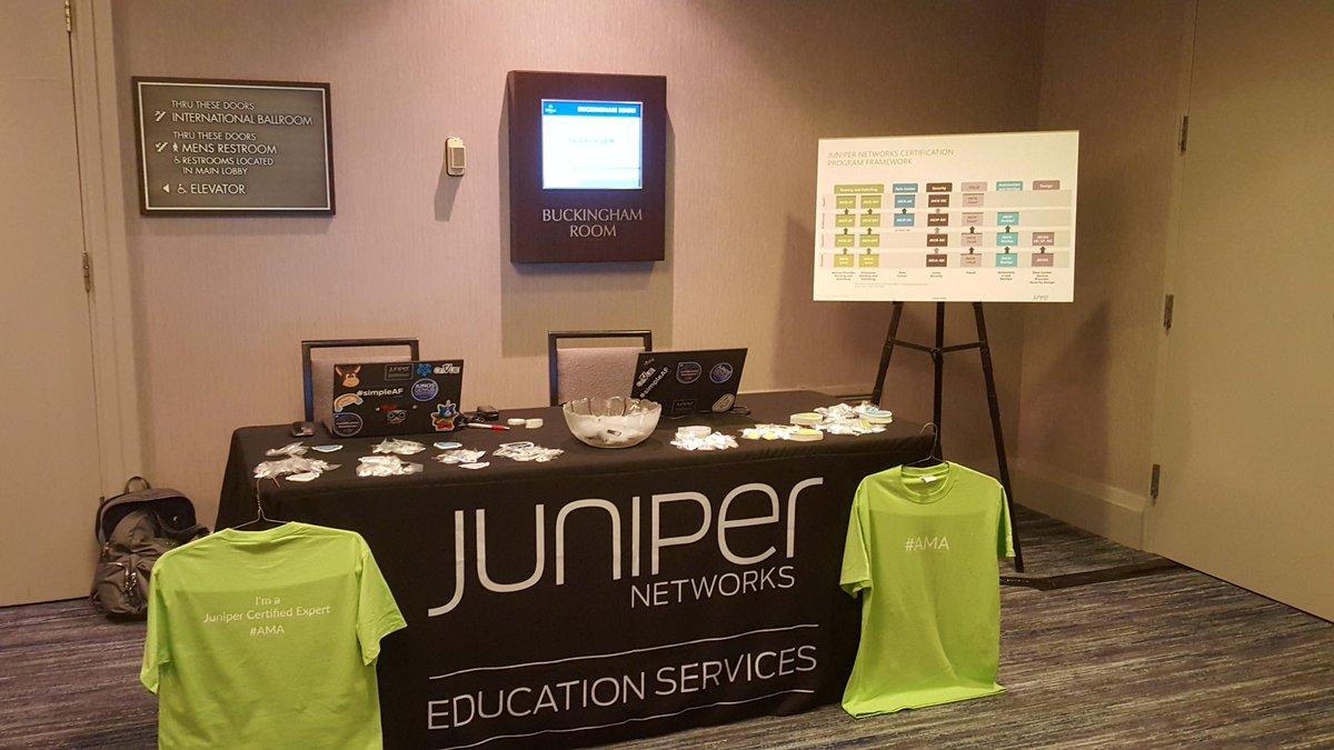 Juniper Certification (@JuniperCertify) | Twitter