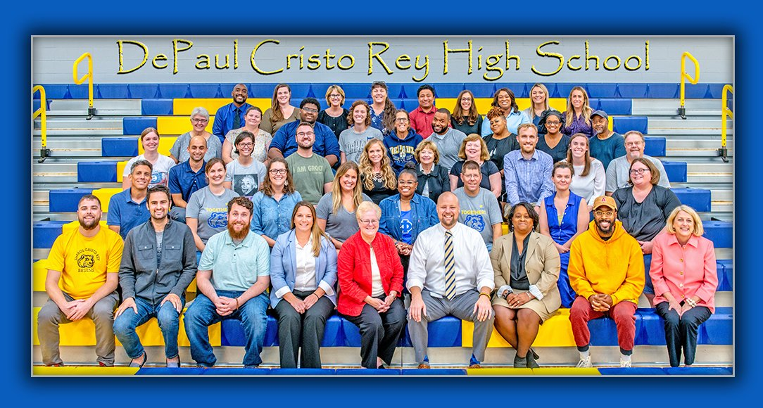 We're ready for you Bruins! Your creative, dedicated and energetic teachers and staff can't wait to see you Wednesday! #dpcrspirit #depaulcristorey https://t.co/7Cz8fE0vsy