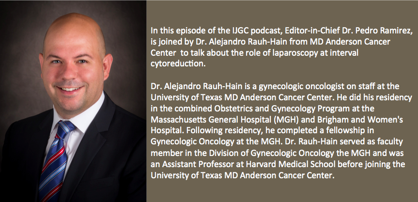 J  Alejandro Rauh-Hain, MD, MPH (@RauhHainMD) | Twitter