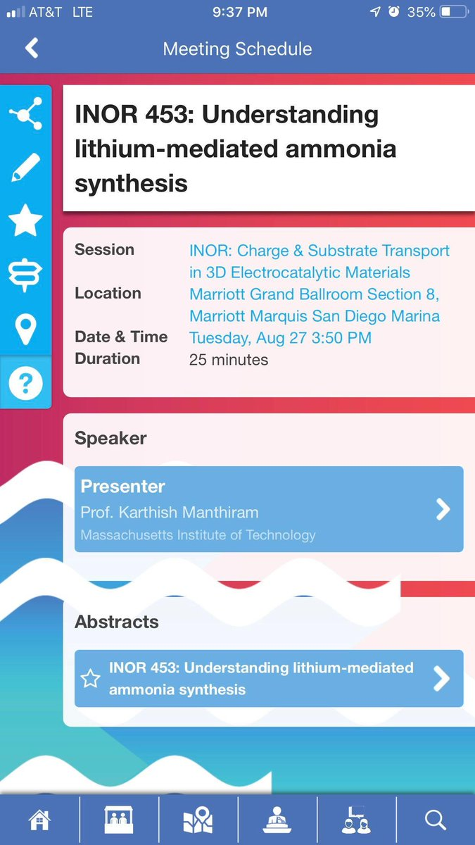 This is today! See you soon, #electrocatalysis folks!