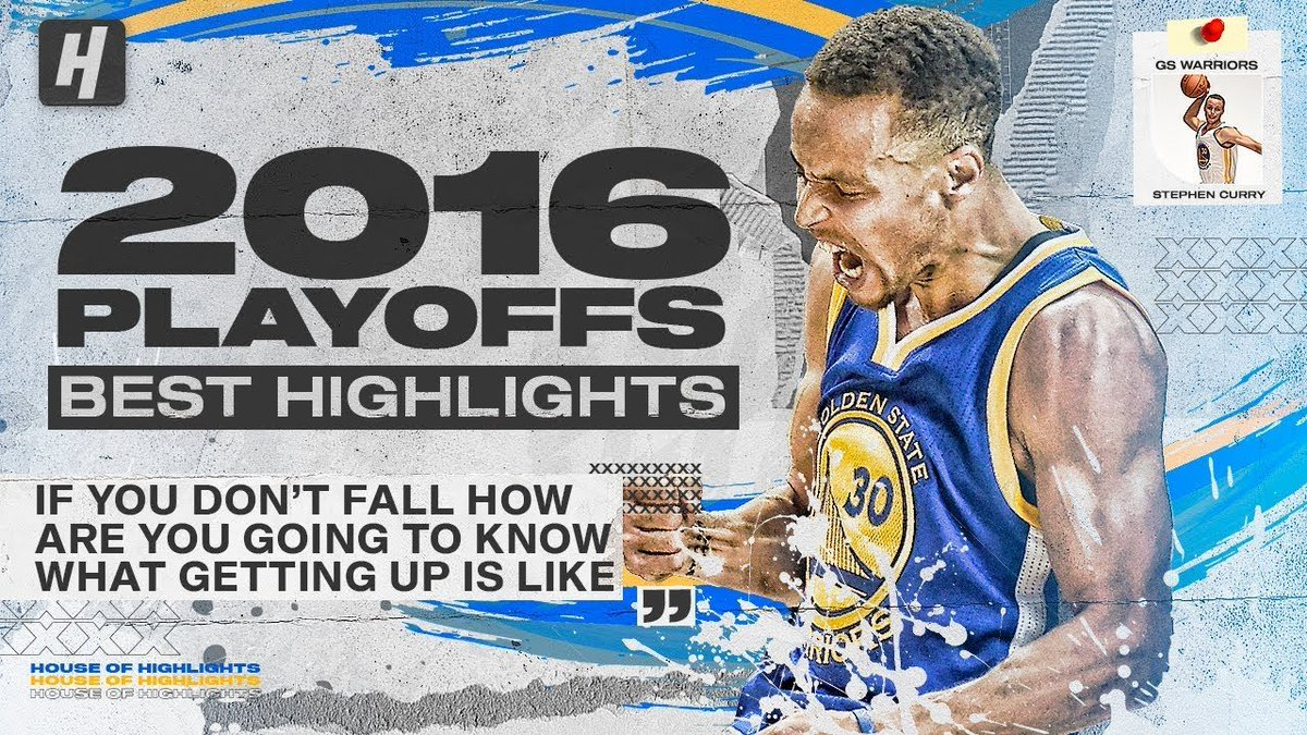 WATCH // @StephenCurry30 EPIC 2016 NBA Playoffs & The Finals! BEST Highlights & Moments! https://t.co/R2JjSmxDRA https://t.co/JzfBe9wdpX