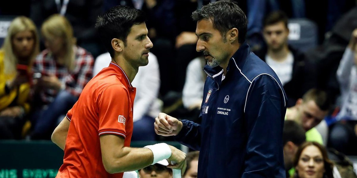 Image result for team serbia davis cup finals 2019