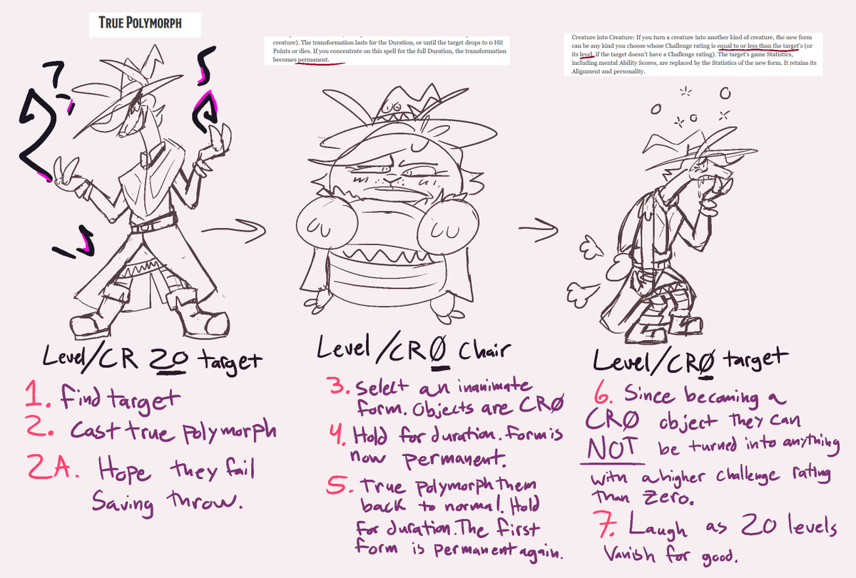 Jackgoose On Twitter Here Is An Idea For You Guys Abusing True Polymorph Or How To Blow 20 Levels Worth Of Abilities Experience And Stats Out Your Ass Https T Co Xgejffcutg