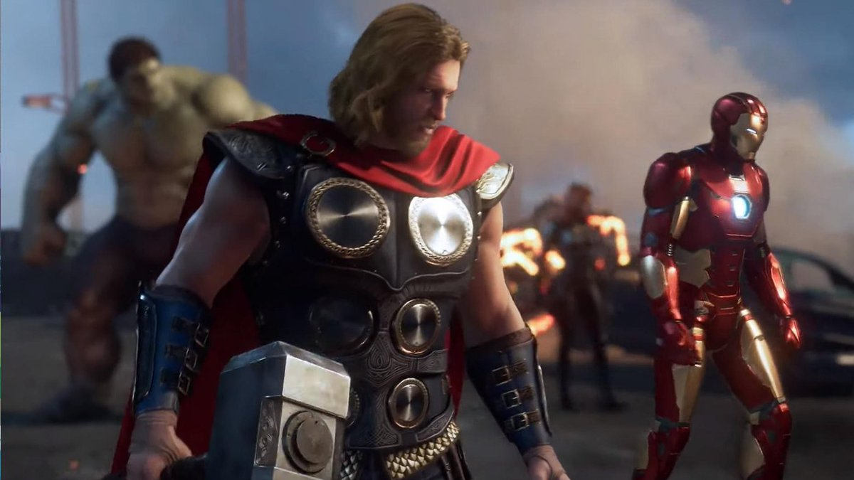 RT @GameSpot: Marvel's Avengers game character designs are by no means complete   https://t.co/5ibPRpUwxD https://t.co/fnpR7QYV8j
