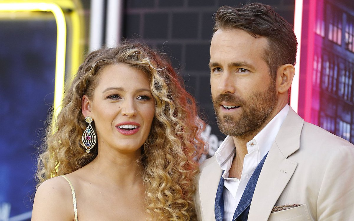 #RyanReynolds Predictably Trolls #BlakeLively for Her #Birthday With 10 Photos She Wasn't Quite Ready For https://t.co/QEiKYqBdeJ https://t.co/g1j1z1W69H