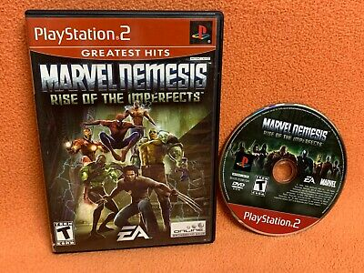 Marvel Nemesis Rise of Imperfects Playstation 2 PS2 Game Disc & Case! https://t.co/rDzqqxLg4J #marvel #movies #avengers https://t.co/f3bP4apngh