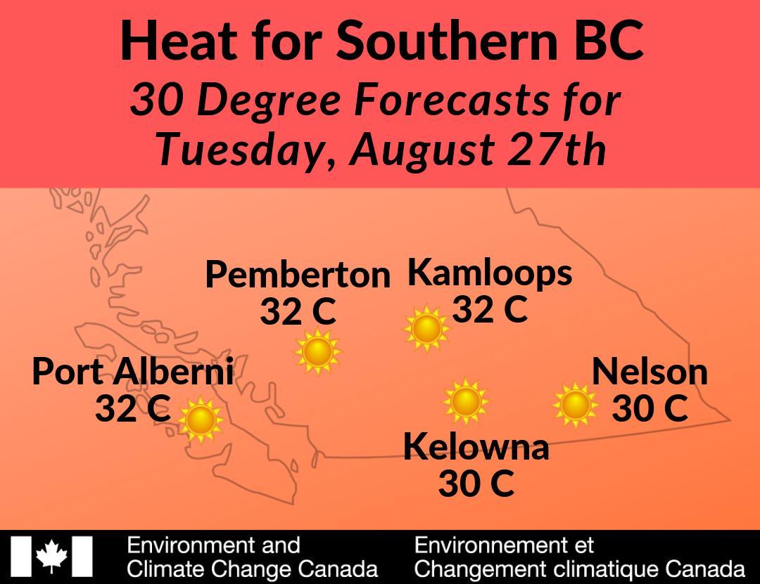 ECCC Weather British Columbia (@ECCCWeatherBC)   Twitter