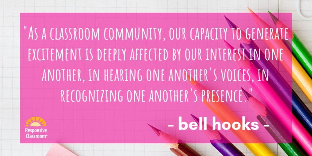 🙌 #ResponsiveClassroom #SocialEmotionalLearning #community