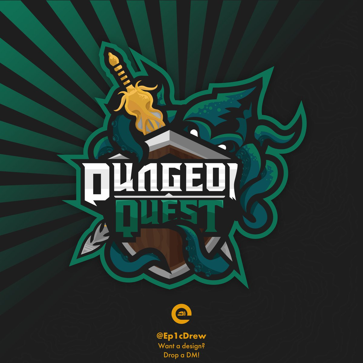 Roblox Quest Game Ep1cdrew On Twitter Oooo Commission Logo For The Game Dungeon Quest Ghastly Harbor Theme Had A Lot Of Fun Making This S Rt S Appreciated Robloxdev Roblox Known Members Devs Vcaffy