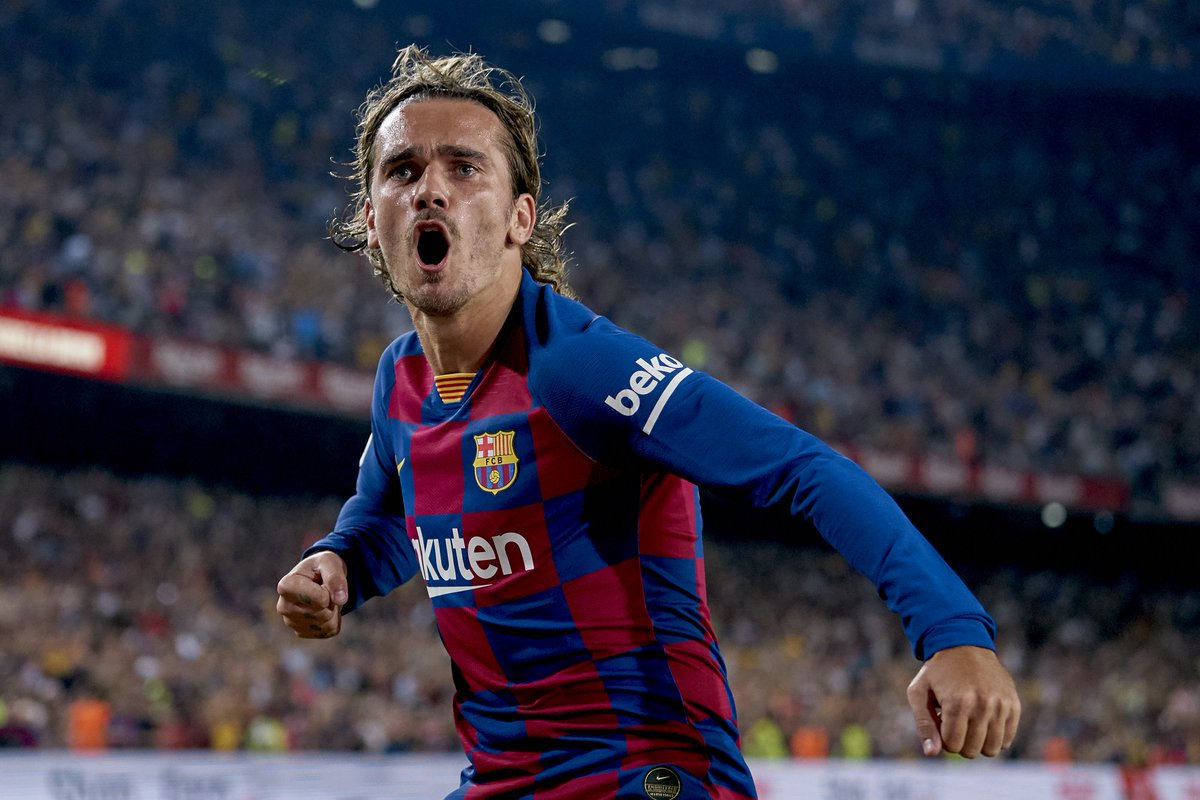 Barca Worldwide On Twitter Antoine Griezmann Last Month I M Preparing A New Goal Celebration For The Camp Nou Grizou Yesterday