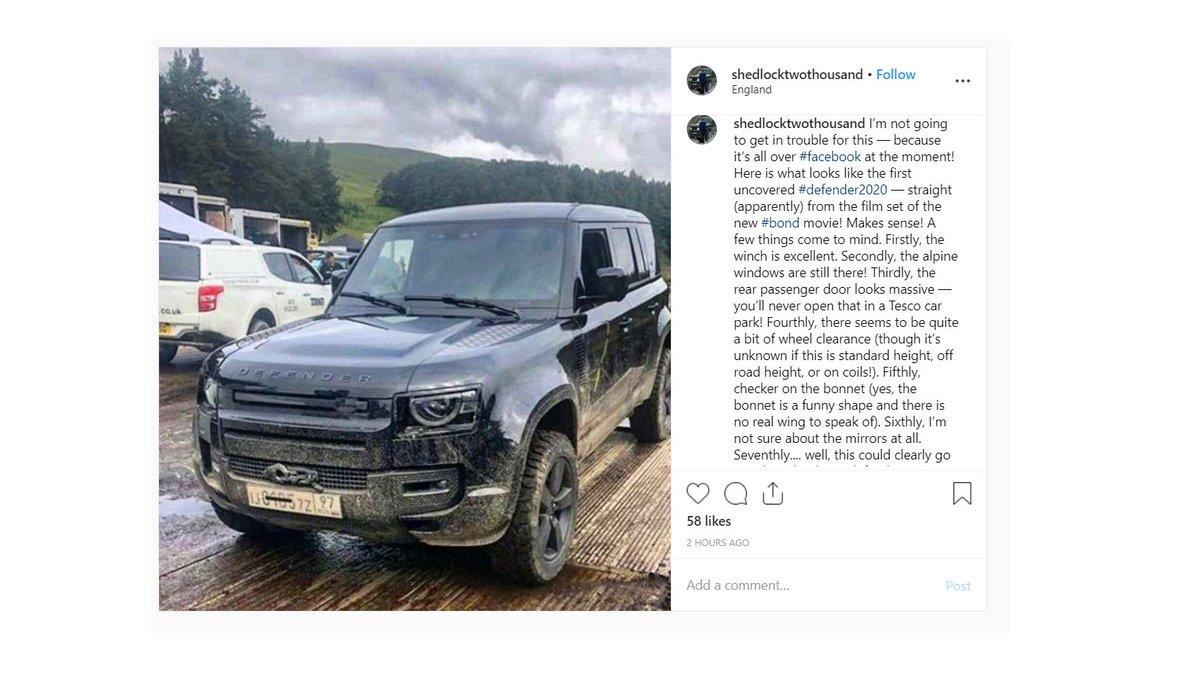 Jalopnik On Twitter Here S The 2020 Land Rover Defender
